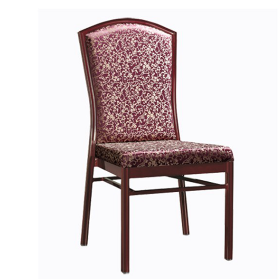 Cafe Chair Aluminum Alloy  Stack Fabric Chair YD-079