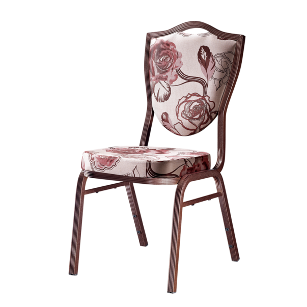 Restaurant Event Chair Aluminum Upholstered Chair YD-082