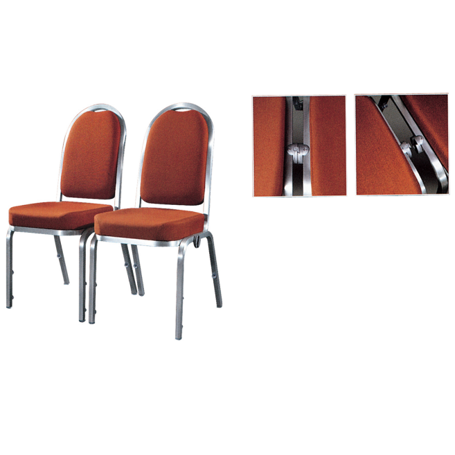San Dun elegant stackable aluminum chairs with good price for hotel banquet-2