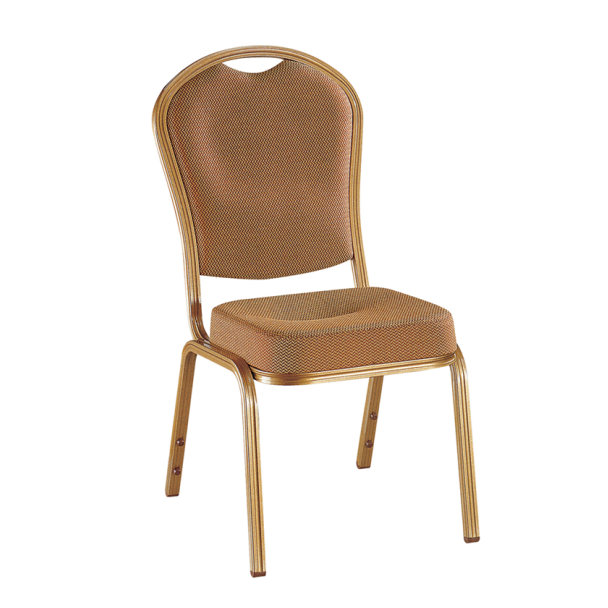 Curve Seat Aluminum Meeting Chair Stacking Ballroom Chair YD-091