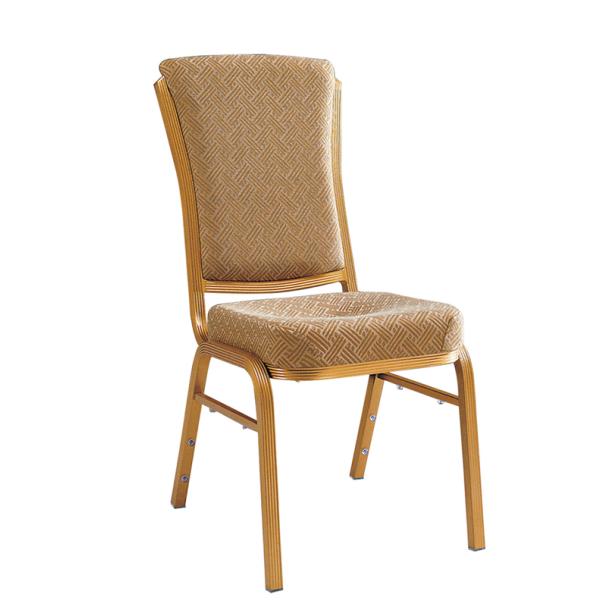 Aluminum High Back Chair Ballroom Cafe Chair YD-096