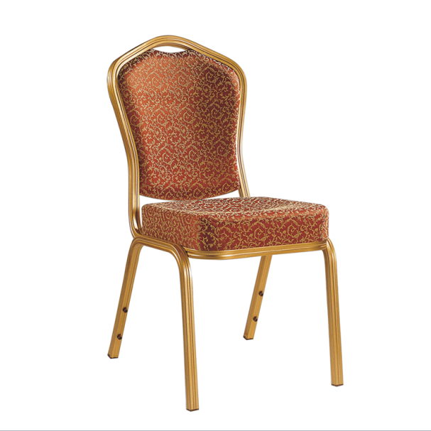 Curve Chair Back Meeting Reception Aluminum Alloy Chair YD-098