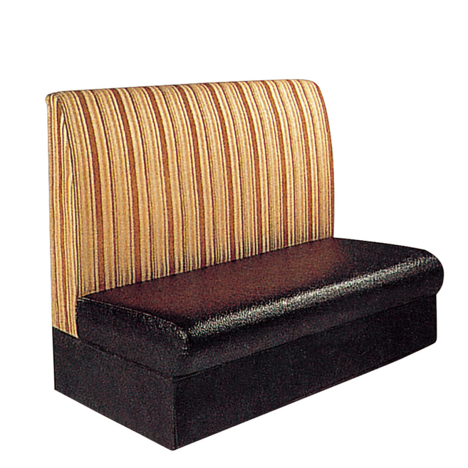 SAIMPLE LEATHER DESIGN CAFE RESTAURANT SOFA SEAT K-010