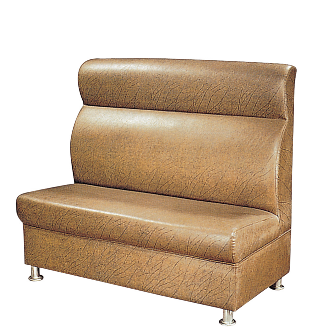 HARMONIOUS COLOR LEATHER SOFA HOSPITALITY LOUNGE SOFA K-011