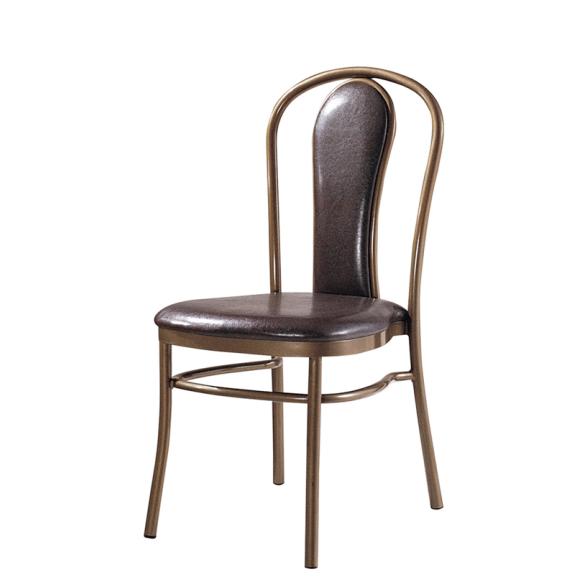 PU Leather Garden Chair Aluminum Wedding Party Chair YD-1005