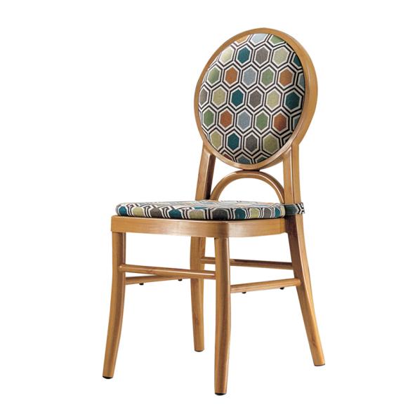 Coffee Shop Metal Wodden Chair YD-1007
