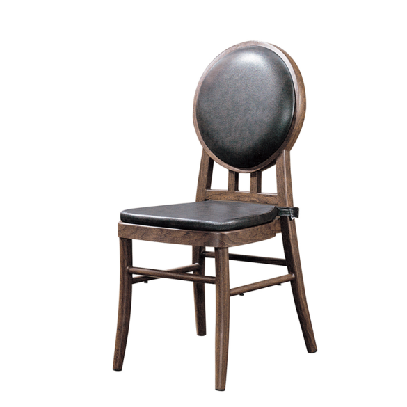 PU Leather Wooden Restaurant Chair YD-1008