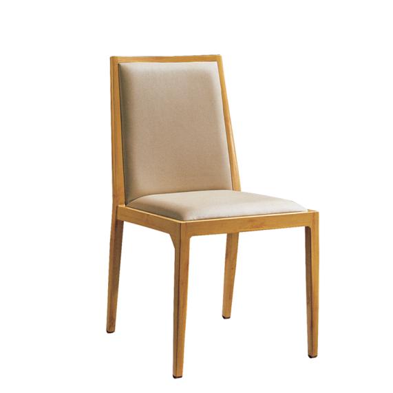 Restaurant Aluminum Wooden Chair YD-1009