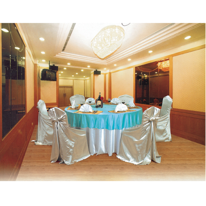 HOTEL DECORATIONS EVENT HALL CHAIR COVER TABLE CLOTH LT-030