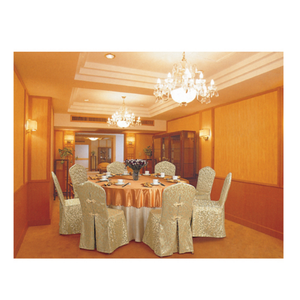 JACQUARD DAMASK CHAIR COVERS TABLE CLOTH  LT-038