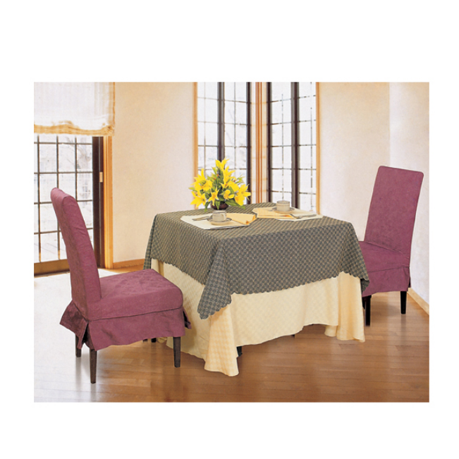 VIOLET MODERN DESIGN TABLE CLOTH AND CHAIR COVERS LT-056