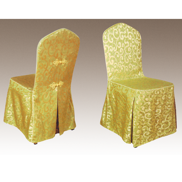 POLYESTER DAMASK CHAIR COVERS Y-022