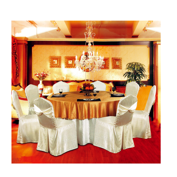 FASHION STYLE WRINKLE  BANQUET WEDDING CHAIR COVER Y-065