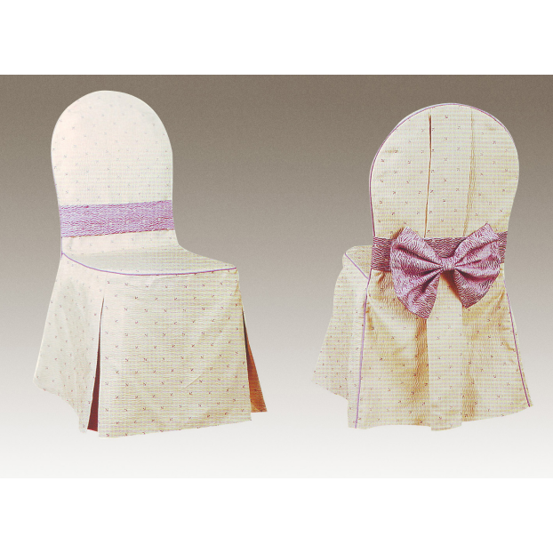 JACQUARD TABLE LINEN HOTEL CHAIR COVER Y-090