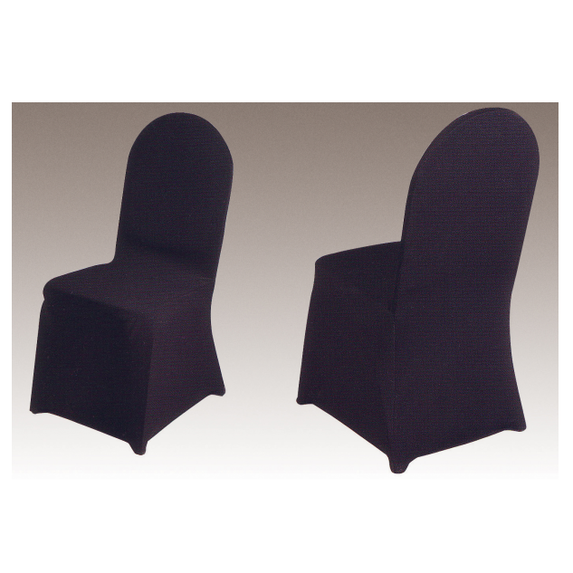 BLACK WRINKLE HOTEL DECORATIONS BANQUET CONFERENCE MEETING SPANDEX CHAIR COVER Y-106