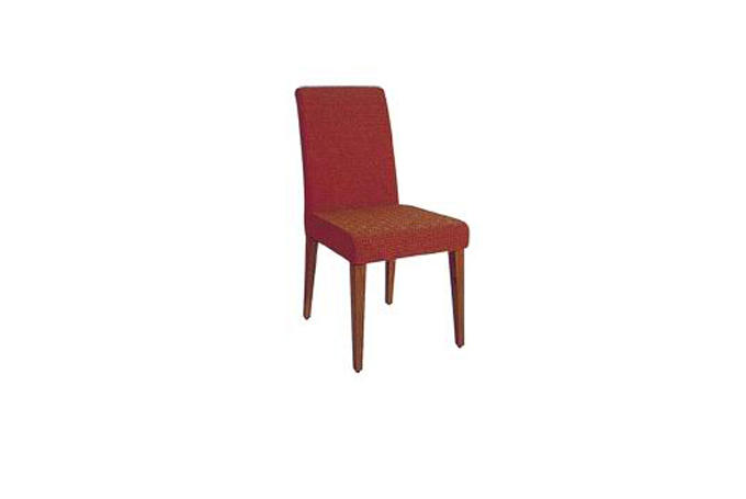 HOTEL UPHOLSTERED IMITATION WOODEN CHAIR YA-003