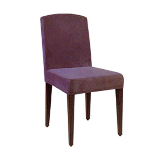COMFORTABLE BANQUET IMITATION WOODEN CHAIR YA-004