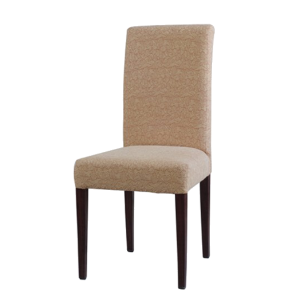 SOFT SEAT IMITATION WOODEN CHAIR FOR DINNER PARTY YA-009