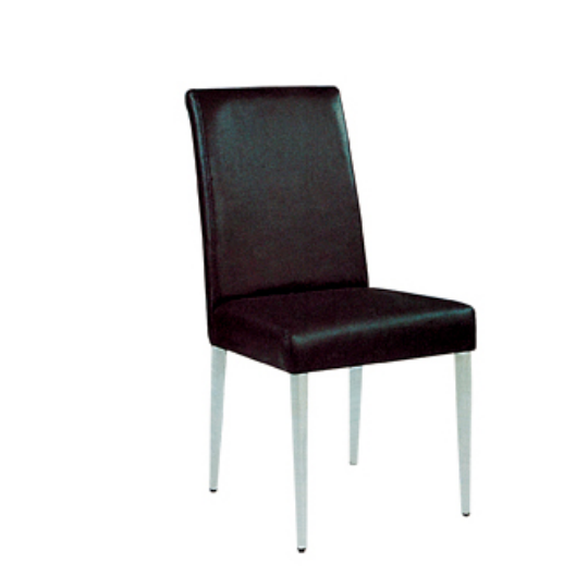 BLACK PU LEATHER METAL WOODEN CHAIR FOR BANQUET HALL YA-014