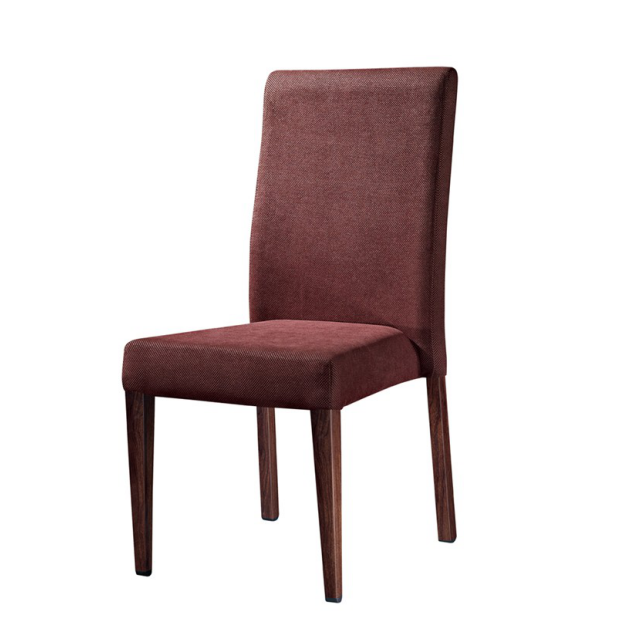 HARMONIOUS COLOR FABRIC DINING ROOM IMITATION WOODEN CHAIR YA-016