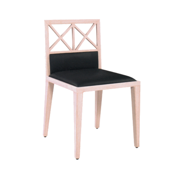 ASIA-STYLE DINING HALL IMITATION WOODEN CHAIR  YA-021