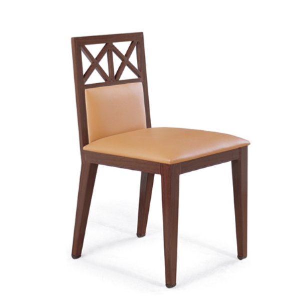 LUNCHROOM IMITATION WOODEN CHAIR YA-022