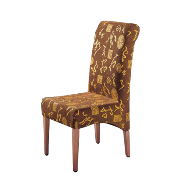 SOFT SEAT BANQUET METAL WOOD CHAIR YA-029