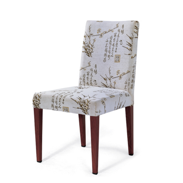HOSPITALITY FURNITURE FABRIC METAL WOOD CHAIR YA-031
