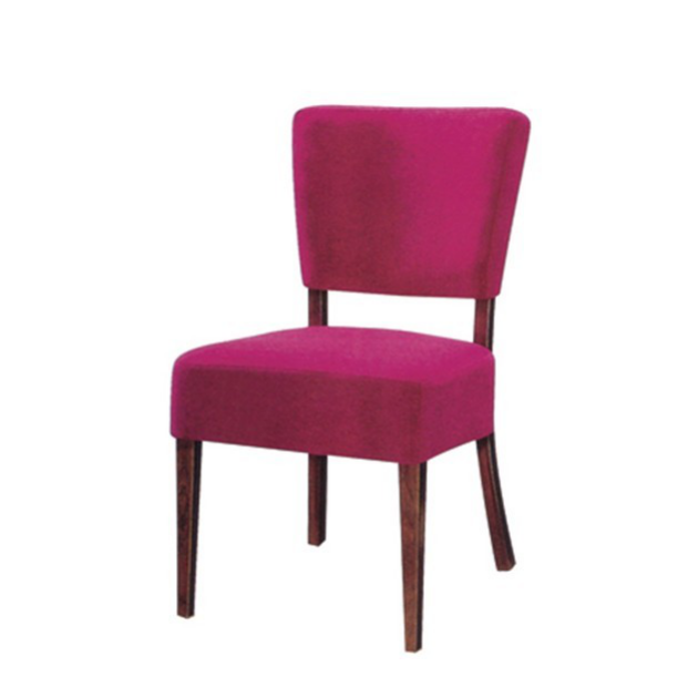 WESTERN-STYLE RESTAURANT FABRIC METAL WOOD CHAIR YA-033