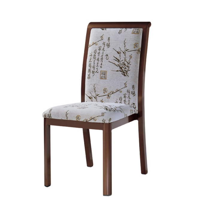 CLASSIC DESIGN RESTAURANT METAL WOOD CHAIR YA-044