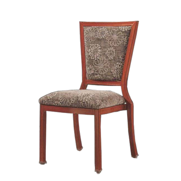 METAL WOOD CHAIRS FOR HOTEL RESTAURANT YA-046