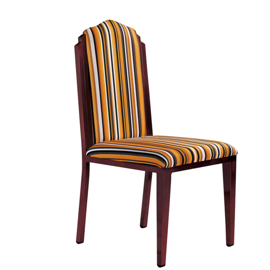 RECEPTION WOOD CHAIR METAL CHAIR  YA-051