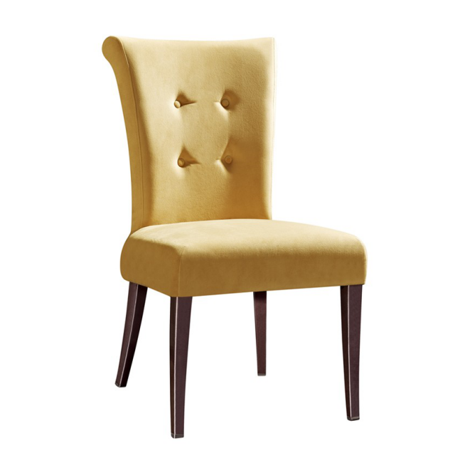 PU LEATHER FURNITURE STEEL WOODEN CHAIR  YA-070