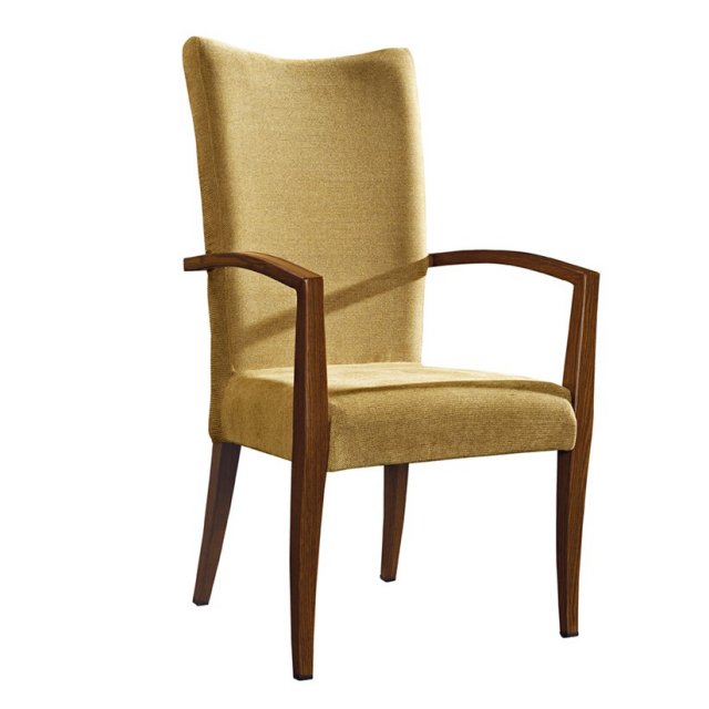 top wood upholstered dining chairs company for party-1