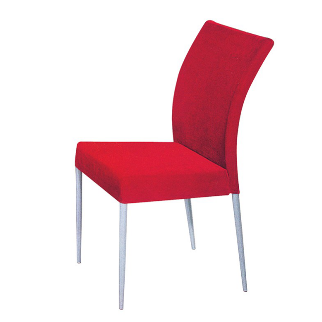 SILVER PAINTING COLOR STEEL HOTEL RECEPTION CHAIR YA-097