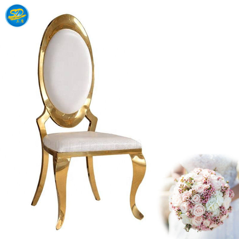 STAINLESS STEEL HOTEL BANQUET PARTY CHAIR YS-003
