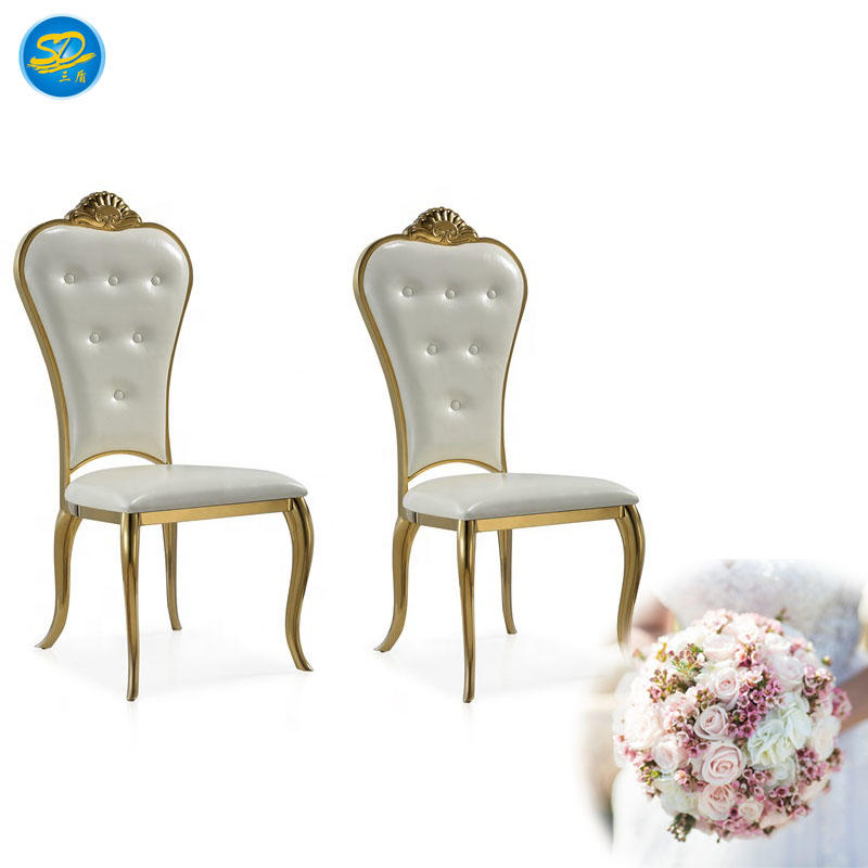HOTEL RESTAURANT BANQUET STAINLESS STEEL STACKING CHAIR YS-027