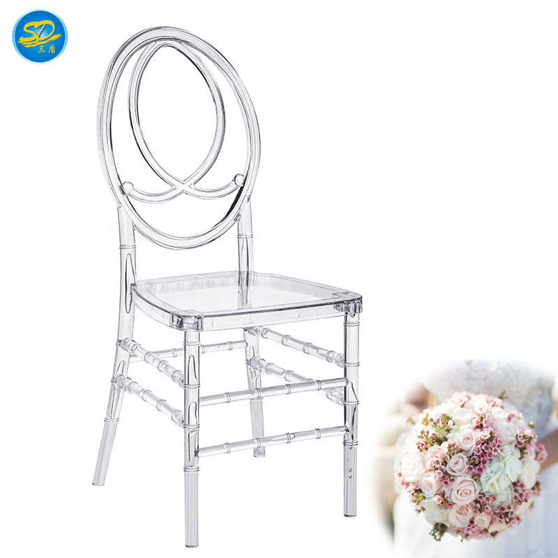 WHOLESALE WEDDING PARTY RESIN PHOENIX CHAIR CRYSTAL CHAIR YRC-007
