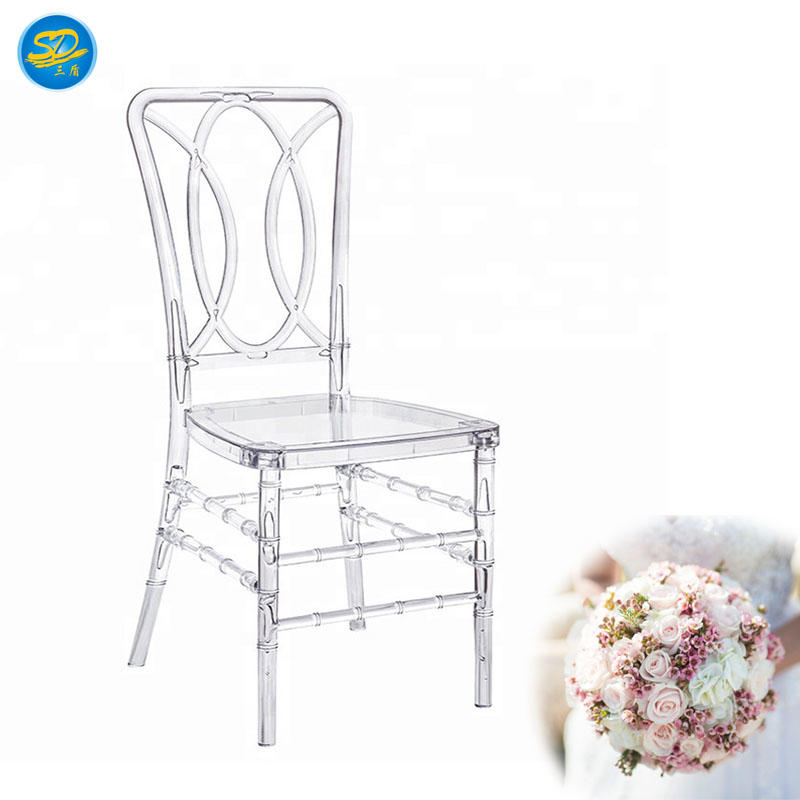 CHEAP HOT SALE CLEAR RESIN CHAIR OUTDOOR WEDDING CHAIR  YRC-008