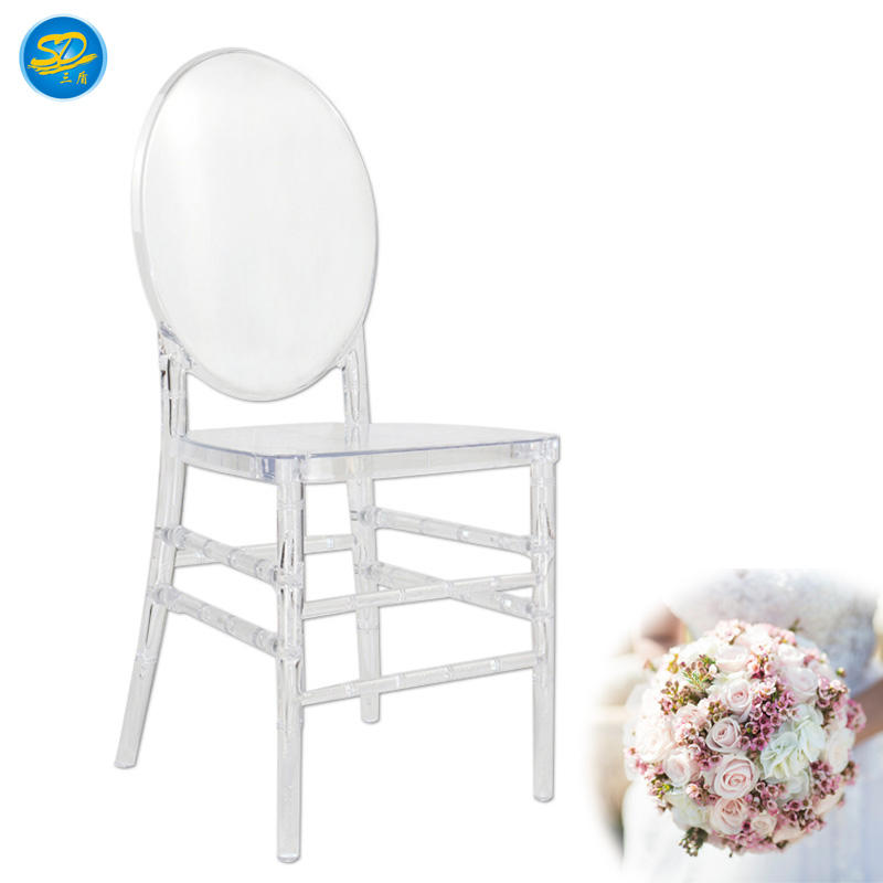 ROUND BACK DESIGN EVENT WEDDING PARTY RESIN STACKING CHAIR YRC-010