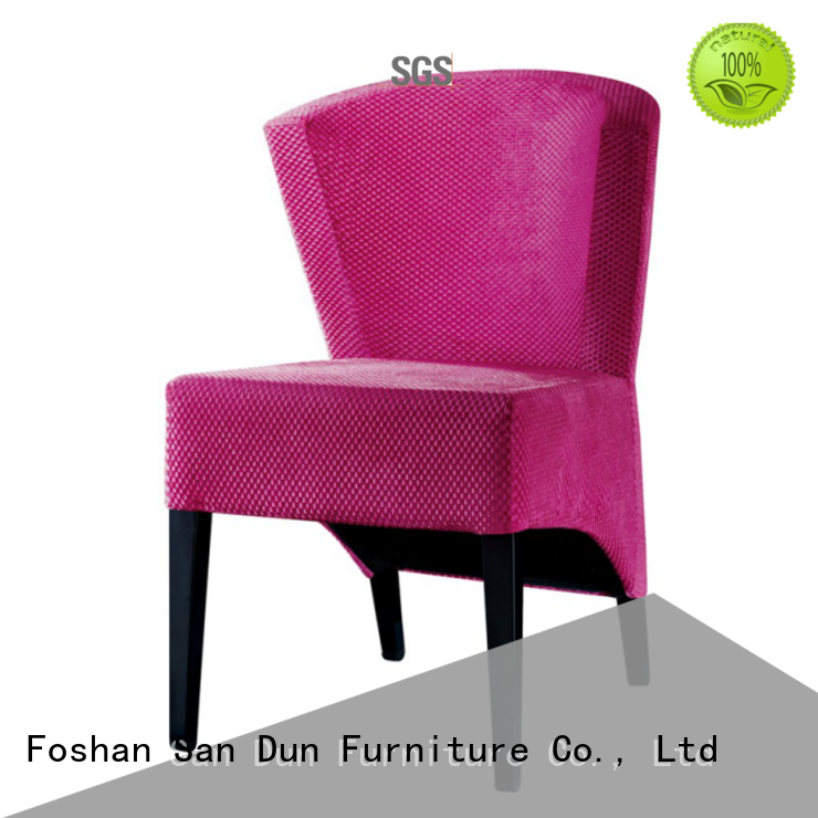 San Dun fabric wood and upholstered dining chairs ya038 for wedding