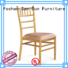 hot-sale chiavari chairs with cushions factory direct supply for hall