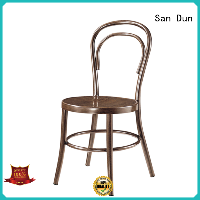 stable cast aluminum chairs factory bulk buy
