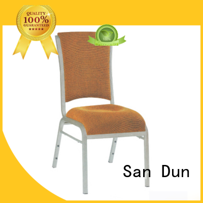 San Dun latest restaurant aluminum chair from China for restaurant