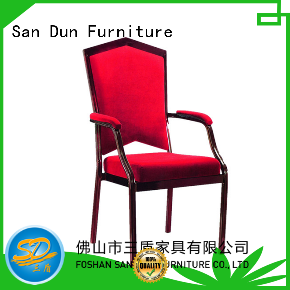 San Dun aluminum restaurant chairs wholesale for hotel banquet