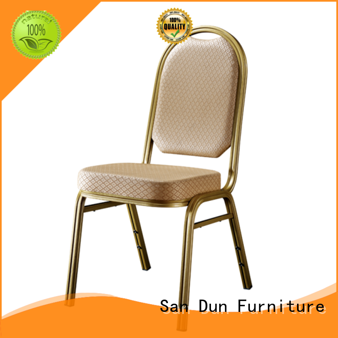 San Dun high quality aluminum dining chair supply for restaurant
