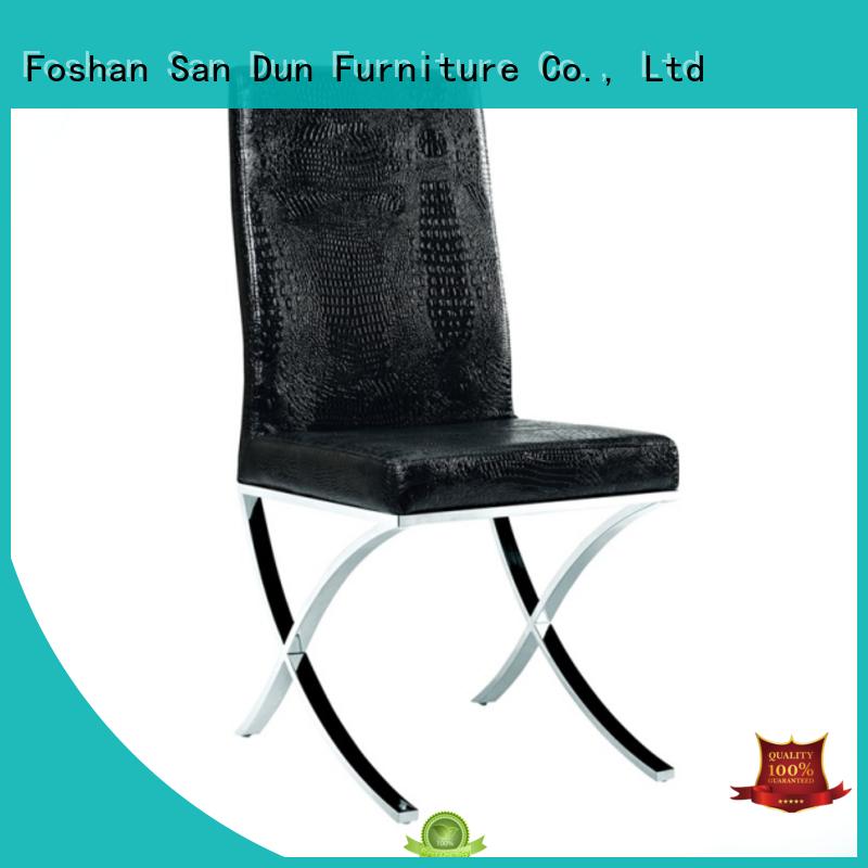 San Dun velvet restaurant wooden chair furniture for party
