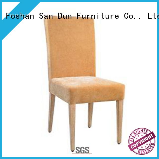 San Dun high-quality stylish wooden chair series bulk production