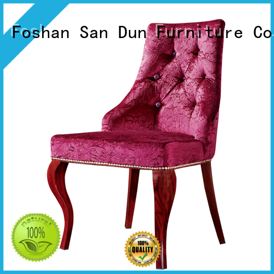 curve light wood dining chairs China for wedding
