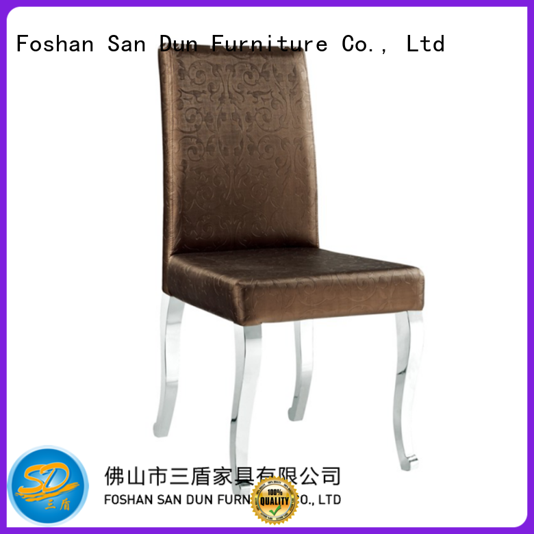 simple wooden dining chairs design for hotel